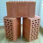 Блоки керамические поризованные пустотелые.