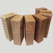 Кирпич керамический (пустотелый,  полнотелый),  силикатный.