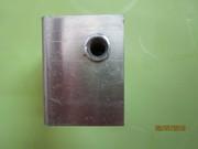 Салазка алюминиевая с прорезью