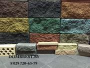 Забор из камня,  каменный забор в Бресте,  Блоки для забора