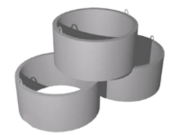 Кольца железобетонные КС 7.6 (ход. скоба) размер 700-880-590-90