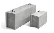Фундаментный блок строительный ФБС 12.4.6