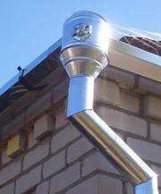 Водостоки металлические оцинкованные для крыши,  недорого.